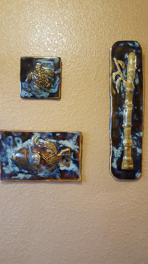 Hawaiian Set Wall Hanging - Maui Ceramics
