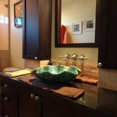 "Ceramic Bathroom Sinks 18.5X5.5"" P45"
