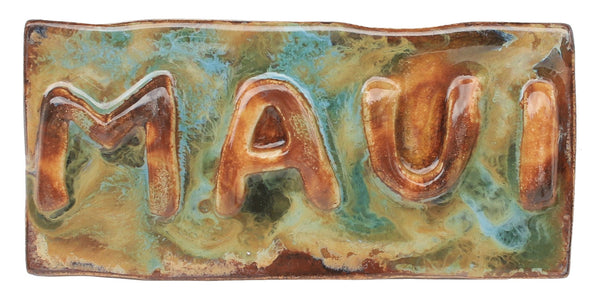 "Maui Wall Plaque 3""x10"" TP43 $45.00"