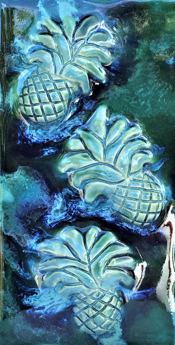 Kitchen Plaque Pineapple - Maui Ceramics