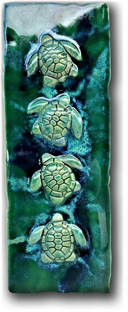 ceramic turtle kitchen backsplash, tropical wall art, wall hanging turtle tile 6x6, tropical beach art, decorative wall tile, sea turtle art, beach turtle decor, Hawaiian sea turtle, maui ceramic turtles, hawaiian sea turtle, sea life art, turtle gift, turtle gifts wall art, ceramic sea turtles, green sea turtle, beach decor, handmade ceramic turtle, kitchen ceramic turtle, costal kitchen decor, tropical kitchen decor, Hawaiian kitchen decor