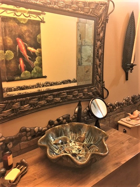 Ceramic Above Vessel Sinks, Double Vanity Sinks, Bathroom Porcelain Sinks