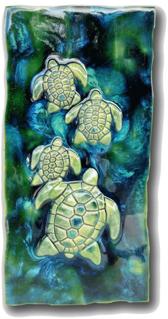 "Turtle Design 8.5"" X17.5"" MP11"