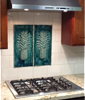 Ceramic Pineapple Design Tile for Kitchen Backsplash, Bathroom Tile - Maui Ceramics
