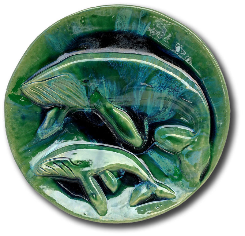 "Kitchen Plaque Maui Humpback Whale 3"" × 16"" B62"