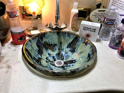 Circular Rim Bathroom Sink P48