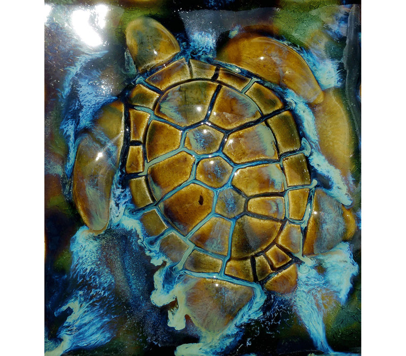 "Bathroom Tile Turtle 6""×6"" T05 $80.00"