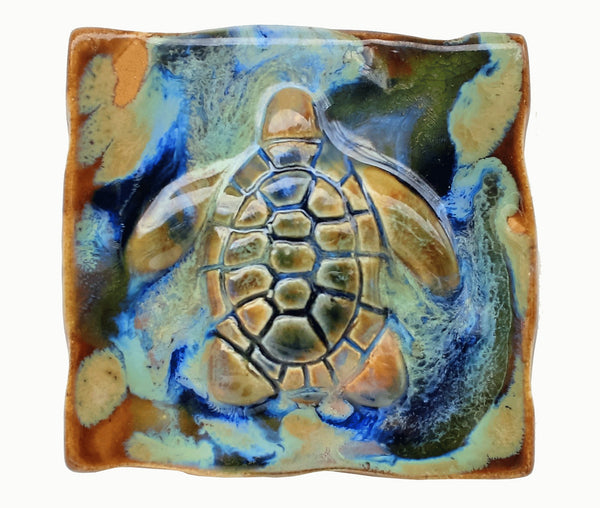 "Bathroom Tile Turtle 6""×6"" $80.00 TI05"