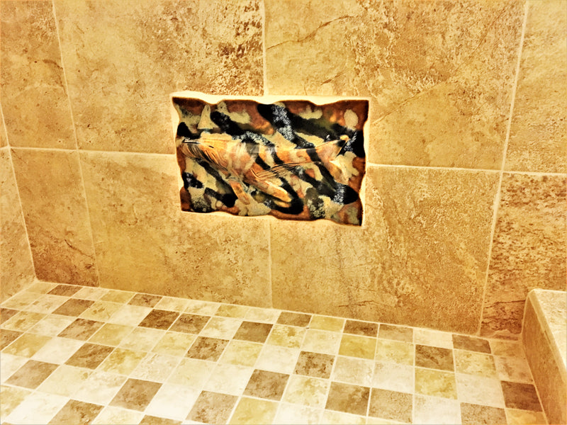 Shower Tile, Turtle, Pineapple, Palm Trees, Kitchen Backsplash,  Wall Art Designs  $120.00 TI06