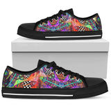 Feather Festival Low Tops