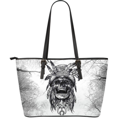 Free Spirit Large Leather Tote Bag