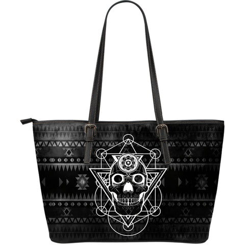 Boho Soul Large Leather Tote Bag