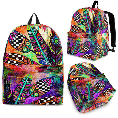 Feather Festival Backpack