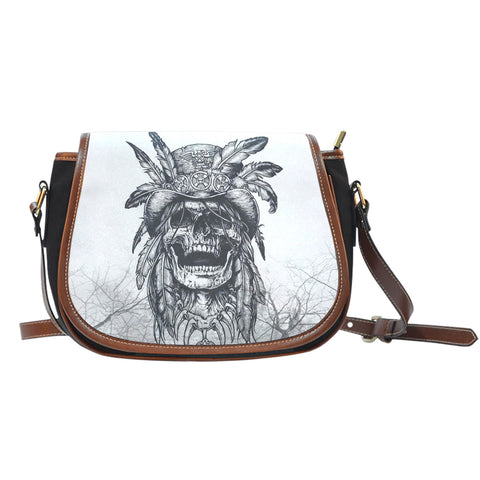 Free Spirit Canvas Saddle Bag