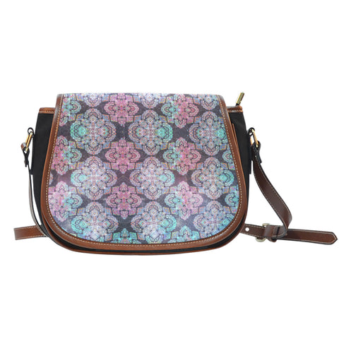 Your Universe Canvas Saddle Bag