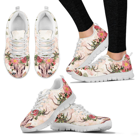 Undying Garden White Sneakers