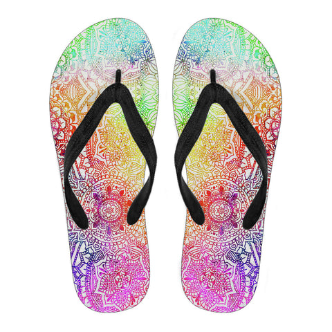 Kaleidoscope Dream Flip Flops