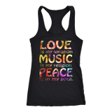 Love, Music & Peace