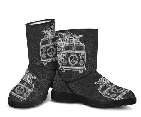 Hippie Adventure Faux Fur Boots