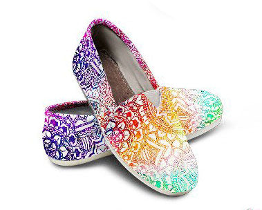 Kaleidoscope Dream Casual Shoes