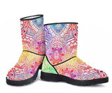 Kaleidoscope Dream Faux Fur Boots