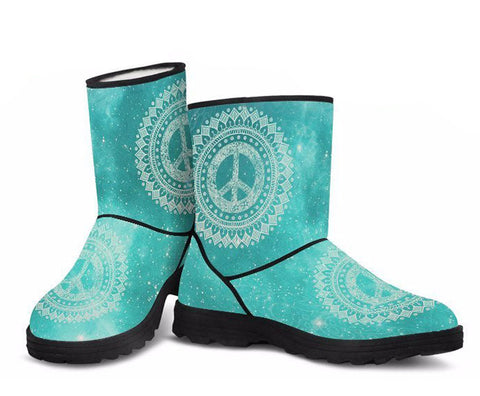 Peaceful World Faux Fur Boots