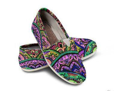 Mandala Feast Casual Shoes