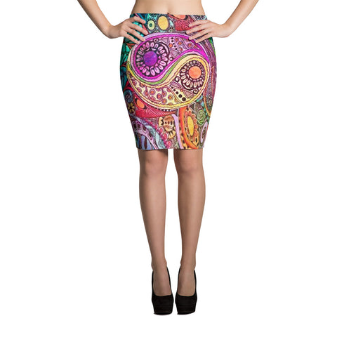 Nature's Balance Pencil Skirt