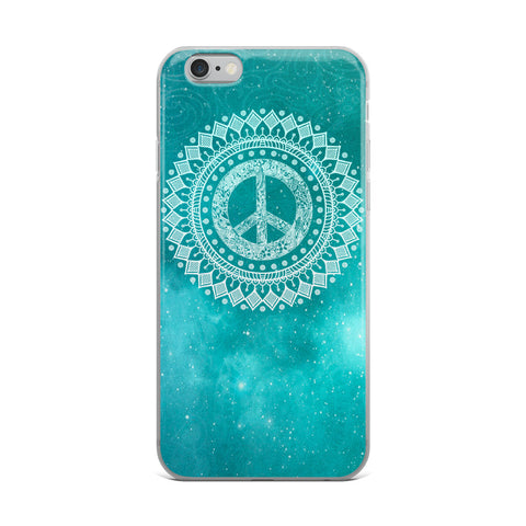 Peaceful World iPhone 5/5s/Se, 6/6s, 6/6s Plus Case