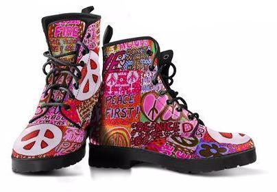 Peace and Love Boots