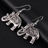 Good Luck Elephant Earrings