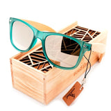 Green With Envy Bamboo Sunglasses