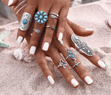 Cacti BOHO Ring Set