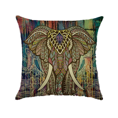 Indian Elephant Cushion Covers
