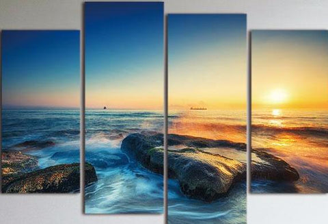 Ocean Sunrise Canvas