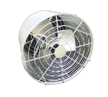 "P/N: 12VTG-1, HOT DIPPED DEEP GUARDED HIGH PERFORMANCE CIRCULATION FAN, 12"", CEILING STYLE BRACKET"