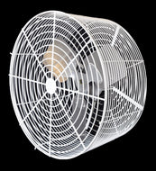 P/N: 24VTW-1, DEEP GUARDED HIGH PERFORMANCE CIRCULATION FAN, WHITE
