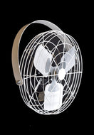 "P/N: 24BW-W1, WIDE SPACED POULTRY FAN, 24"", WHITE"