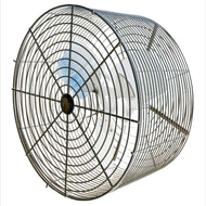 "P/N: 24VTB-S, DEEP GUARDED HIGH PERFORMANCE SHOW CIRCULATION FAN, 24"", BLACK"