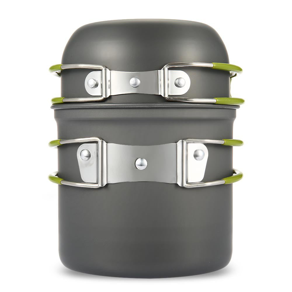 Camping Pot & Pan Set - Ultra Lightweight