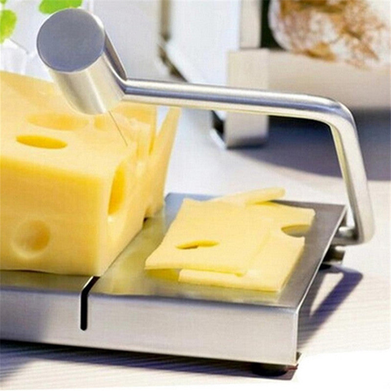 Cheese Cutting Board - Stainless Steel
