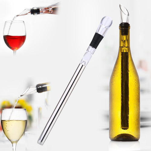 Wine Cooling Stick With Pourer