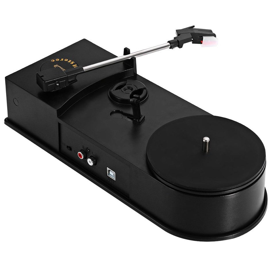 Vinyl Record Player Converts To MP3