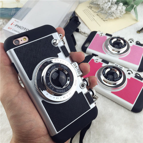 Retro iPhone Camera Case