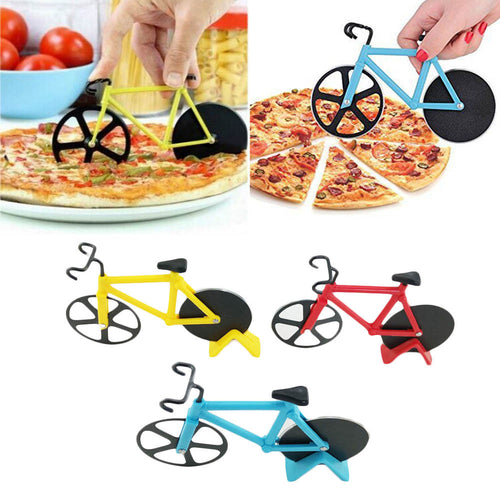 Bicycle Pizza Cutter - Stainless Steel