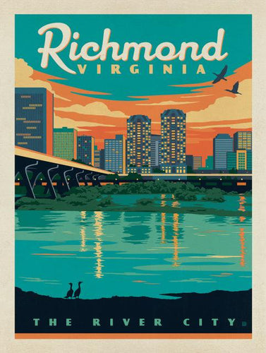Assorted U.S. City Vintage Posters