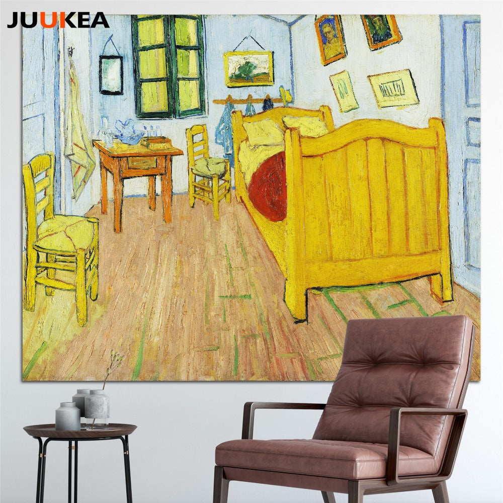 Van Gogh Bedroom In Arles Poster