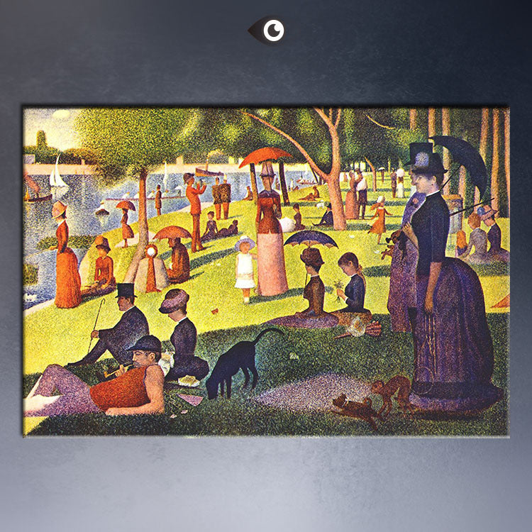 Seurat A Sunday Afternoon Poster