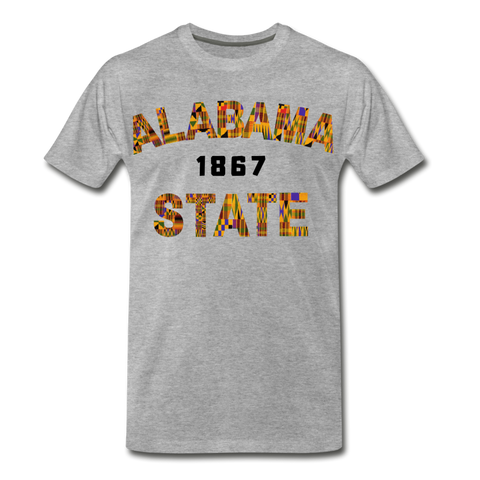 Alabama State University Rep U Heritage T-Shirt - heather gray