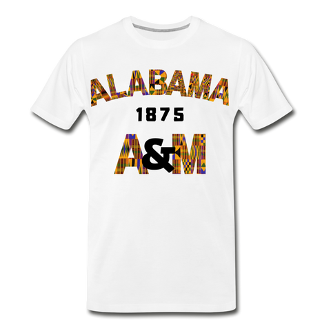 Alabama A&M University Rep U Heritage T-Shirt - white
